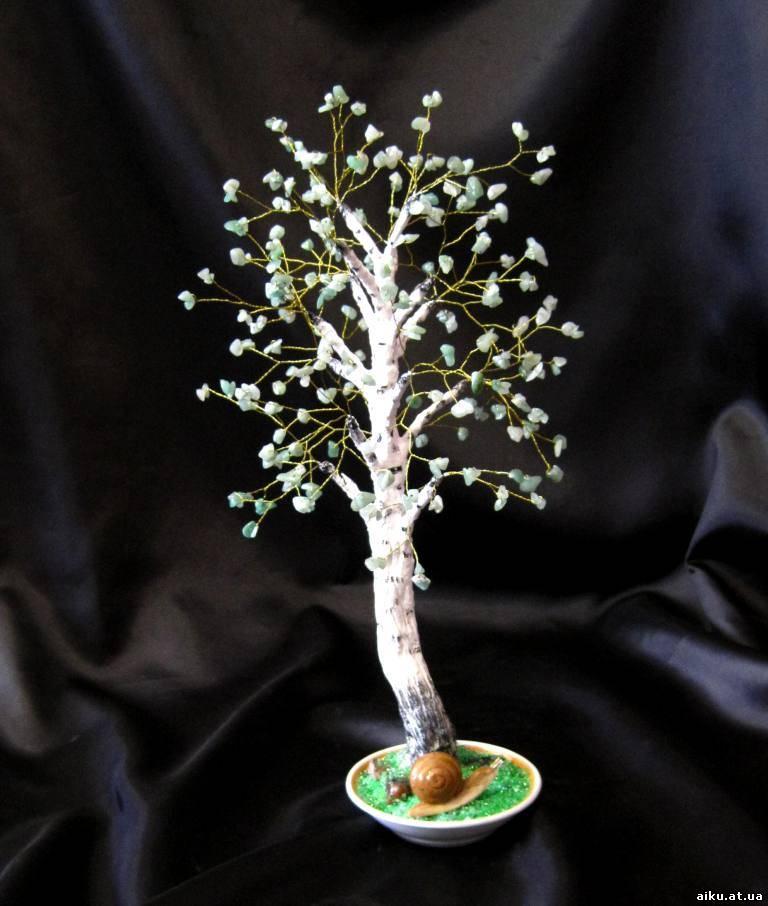Ищите отличную идею - что подарить, чем украсить интерьер.  Деревья и цветы из бисера - оригинальные подарки...